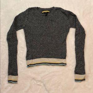 Marled Grey Sweater